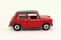 Dinky Toys 183; Morris Mini Automatic, Metallic Red, Black Roof