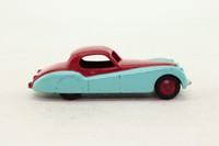 Dinky Toys 157; Jaguar XK120; Cerise Over Sky Blue, Cerise Painted Hubs