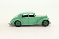 Dinky Toys 40a; Riley Saloon; Peppermint Green, Green Hubs
