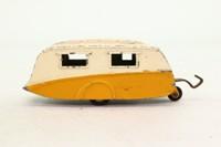 Dinky Toys 190; Trailer Caravan; Orange & Cream