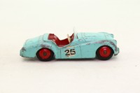 Dinky Toys 111; Triumph TR2, Competition Finish; Turquoise, Red Interior & Hubs