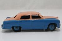 Dinky Toys 170; Ford Fordor Sedan; Pink Over Blue, Blue Hubs, Highline