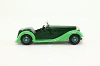 Dinky Toys 24h; Sports Tourer 2-Seater; Green, Dark Green