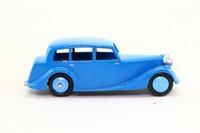Dinky Toys 40b; Triumph 1800; Blue, Blue Hubs