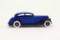 Dinky Toys 30b; Rolls-Royce Car; Dark Blue & Black