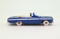 Dinky Toys 137; Plymouth Fury Convertible; Dark Metallic Blue