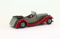 Dinky Toys 24g; Sports Tourer, 4-Seater; Grey, Red Chassis