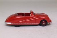 Atlas Dinky Toys 106; Austin Atlantic; Red, Maroon Seats, Maroon Hubs