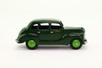 Dinky Toys 40d; Austin Devon Saloon; Green, Green Hubs