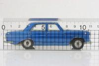 Dinky Toys 160; Mercedes-Benz 250SE; Blue Metallic, Spun Hubs