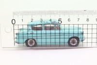Dinky Toys 155; Ford Anglia; Turquoise, Red Seats