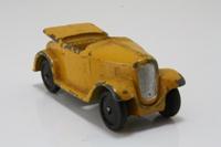 Dinky Toys 35d; Austin Seven Car / Midget Tourer; Midget Tourer; Yellow
