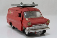 Dinky Toys 286; Ford Transit; Fire Appliance, Red