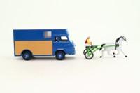 Dinky Toys 571; Saviem Super Goelette Trafic SB2 Van; Transport Chevaux de Courses