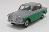 Dinky Toys 168; Singer Gazelle; Grey Over Green, Spun Hubs