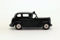 Dinky Toys 254; Austin Taxi Cab; Black, Grey Base & Interior; Spun Hubs