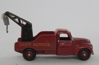 Dinky Toys 35A; Citroen U23 Breakdown Truck; Dark Red