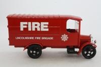 Corgi Classics C855; 1929 Thornycroft Van; Lincolnshire Fire Brigade