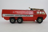 Corgi 1103; Pathfinder Airport Crash Truck; Airport Fire Brigade - Red