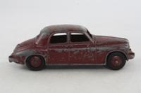 Dinky Toys 156; Rover 75; Maroon, Maroon Hubs