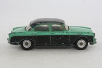 Dinky Toys 165; Humber Hawk Saloon; Green, Black Roof & Sides
