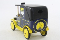 Dinky Toys 115; Vintage Taxi; United Biscuits Promotional Model