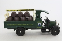 Corgi Classics C867/3; Thornycroft Beer Lorry; Swan Lager, Swan Brewery Co Ltd