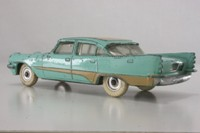 Dinky Toys 192; DeSoto Fireflite; Turquiose With Tan Stripe And Roof