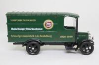 Corgi Classics C821/1; 1929 Thornycroft Van; Heidelberger Druckautomat
