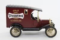 Corgi Classics C875; 1915 Ford Model T Van; Stollwerck Gold Schokolade