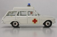 Dinky Toys 278; Vauxhall Victor Estate Ambulance; White