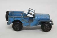 Dinky Toys 25J; Jeep; Light Blue, Black Hubs