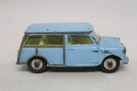 Dinky Toys 199; Austin 7 Countryman; Blue, Yellow Seats