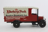 Corgi Classics C840; 1929 Thornycroft Van; Allenburys Foods for Infants