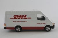 Corgi Classics 58102; Ford Transit Van; DHL Worldwide Express