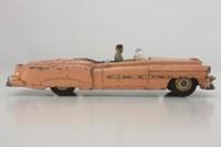 Dinky Toys 131; Cadillac Eldorado; Peach, Grey Seats