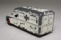 Dinky Toys 253; Daimler Ambulance; White, Red Crosses