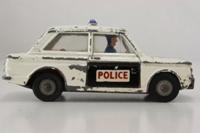 Corgi 506; Sunbeam Imp; Police Panda Car; White, Black Bonnet & Doors