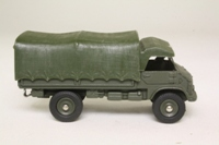 Dinky Toys 804; Mercedes Unimog Military Truck; Olive Drab, Plastic Canopy