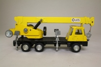 Dinky Toys 980; Coles Hydra 150T Mobile Crane; Yellow
