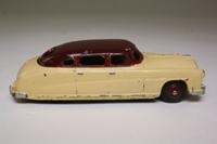 Dinky Toys 139b; Hudson Commodore Sedan; Cream, Maroon Roof, Maroon Hubs