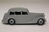 Dinky Toys 40b; Triumph 1800; Mid Grey, Grey Hubs
