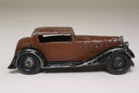 Dinky Toys 36c; Humber Vogue; Brown, Black Chassis