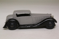Dinky Toys 36c; Humber Vogue; Grey, Black Chassis