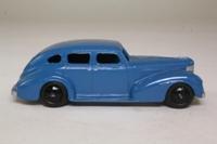 Dinky Toys 39e; Chrysler; Powder Blue, Black Smooth Hubs