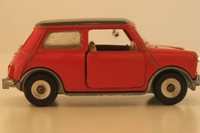 Dinky Toys 183; Morris Mini Automatic, Red With Black Roof