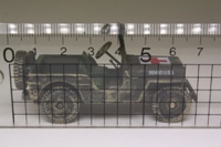 Corgi Classics CS90194; Military Jeep CJ; Medical, Omaha Beach