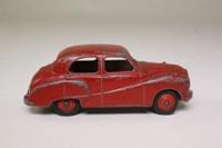Dinky Toys 40J; Austin Somerset; Red, Red Hubs