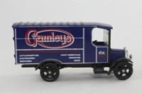 Corgi Classics C828; 1929 Thornycroft Van; Gamleys: Blue