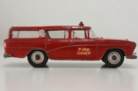Dinky Toys 257; Canadian Fire Chief Car